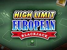 Игровые автоматы по крупным ставкам High Limit European Blackjack